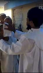 Pasteur protestant diffuse des miasmes protecteurs du covid